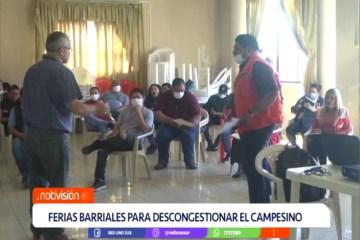 FERIAS BARRIALES PARA DESCONGESTIONAR EL MERCADO CAMPESINO