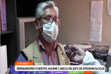 BERNARDINO FUERTES ASUME EL CARGO DE JEFE DE EPIDEMIOLOGÍA