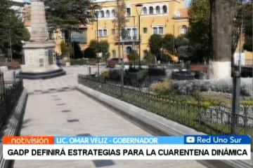 GADP DEFINIRÁ ESTRATEGIAS PARA LA CUARENTENA DINÁMICA