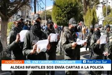 ALDEAS INFANTILES SOS ENVÍA CARTAS A LA POLICÍA