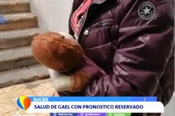 LA MADRE DE GAEL LLEGÓ A SUCRE PARA REUNIRSE CON ÉL
