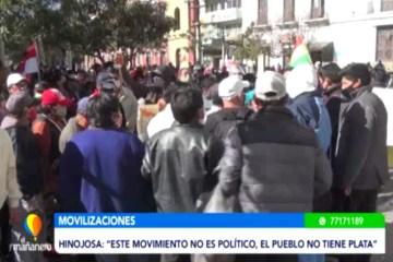 ALREDEDOR DE 200 PERSONAS MARCHARON ESTE LUNES