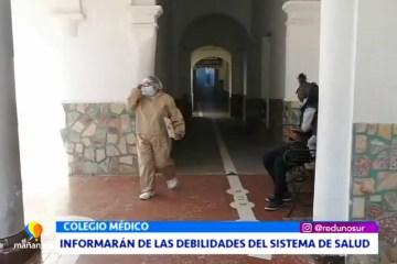 INFORMARÁN DE LAS DEBILIDADES DEL SISTEMA DE SALUD