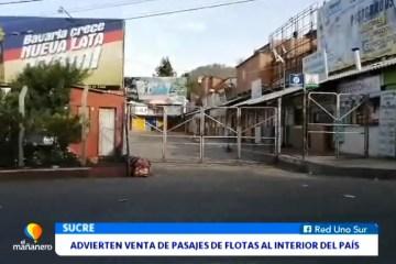 ADVIERTEN SOBRE VENTA DE PASAJES DE FLOTAS AL INTERIOR DEL PAÍS