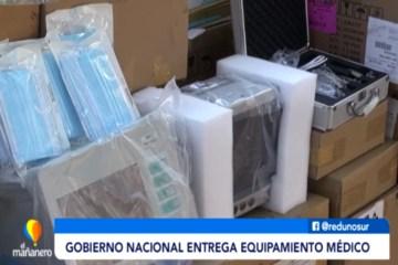 GOBIERNO NACIONAL ENTREGA EQUIPO MÉDICO MEDIANTE EL DELEGADO