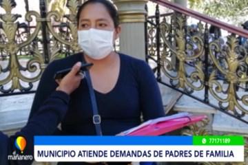 MUNICIPIO SE REUNIÓ CON LOS PADRES DE FAMILIA