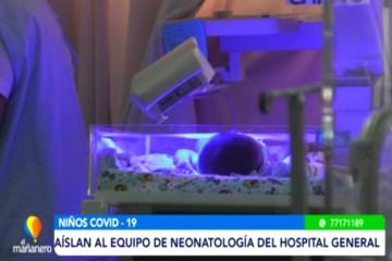 AÍSLAN AL EQUIPO DE NEONATOLOGÍA DEL HOSPITAL GENERAL