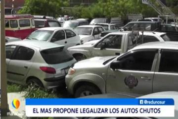 """EL MAS PROPONE LEGALIZAR A LOS AUTOS """"CHUTOS"""""""