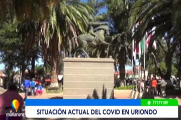 SITUACIÓN ACTUAL DE CONTAGIOS EN URIONDO