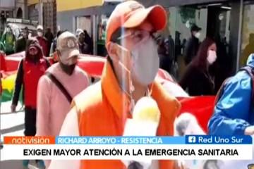 EXIGEN MAYOR ATENCIÓN A LA EMERGENCIA SANITARIA