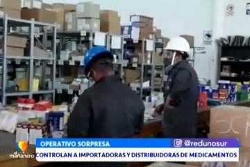 CONTROLAN A IMPORTADORAS Y DISTRIBUIDORAS DE MEDICAMENTOS