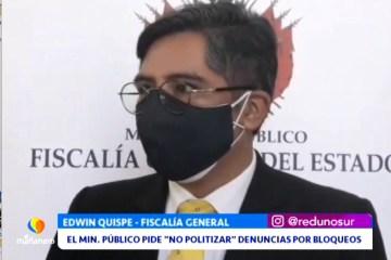 """EL MIN. PÚBLICO PIDE """"NO POLITIZAR"""" DENUNCIAS POR BLOQUEOS"""