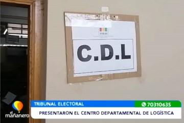PRESENTARON EL CENTRO DEPARTAMENTAL DE LOGÍSTICA
