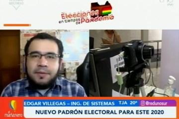 NUEVO PADRÓN ELECTORAL PARA ESTE 2020