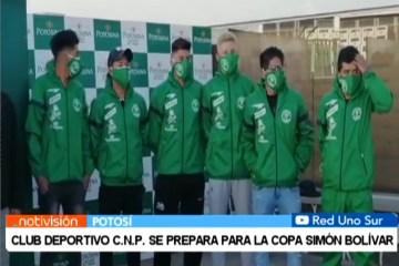 CLUB DEPORTIVO C.N.P. SE PREPARA PARA LA COPA SIMÓN BOLÍVAR