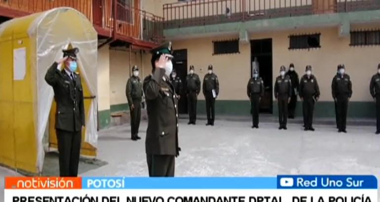 PRESENTACIÓN DEL NUEVO COMANDANTE DPTAL. DE LA POLICÍA