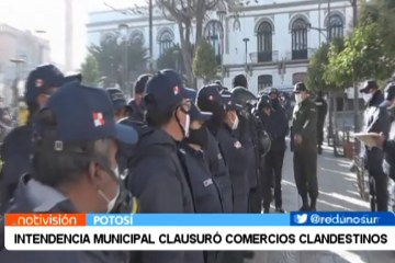 INTENDENCIA MUNICIPAL CLAUSURÓ COMERCIOS CLANDESTINOS