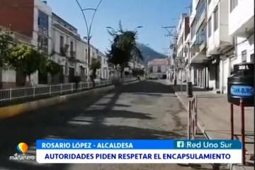 AUTORIDADES PIDEN RESPETAR EL ENCAPSULAMIENTO