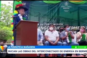 POSINOTICIA: INICIAN LAS OBRAS DEL INTERCONECTADO DE ENERGÍA EN BERMEJO