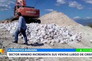 POSINOTICIA: SECTOR MINERO INCREMENTA SUS VENTAS LUEGO DE LA CRISIS