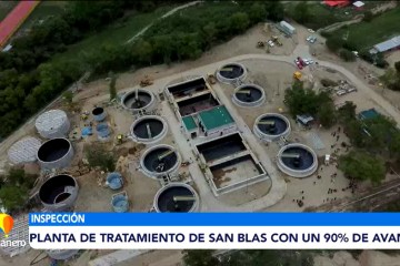 PLANTA DE TRATAMIENTO DE SAN BLAS CON UN 90% DE AVANCE