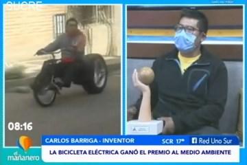 POSINOTICIA: LA BICICLETA ELÉCTRICA GANÓ EL PREMIO AL MEDIO AMBIENTE