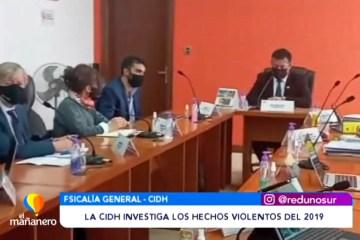 LA CIDH INVESTIGA LOS HECHOS VIOLENTOS DEL 2019