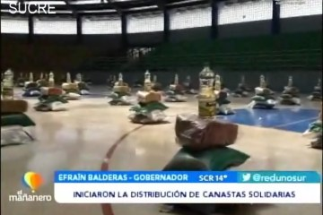 POSINOTICIA: INICIARON LA DISTRIBUCIÓN DE CANASTAS SOLIDARIAS