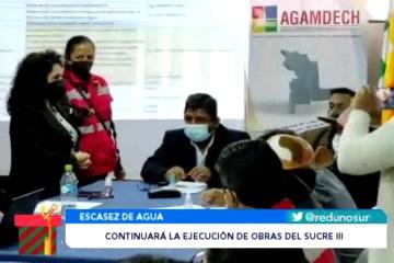 CONTINUARÁ LA EJECUCIÓN DE OBRAS DEL PROYECTO SUCRE 3