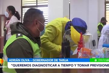 SEDES INICIÓ EL TESTEO A EFECTIVOS POLICIALES