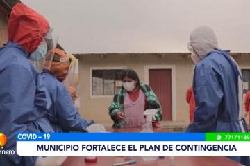 MUNICIPIO FORTALECE EL PLAN DE CONTINGENCIA