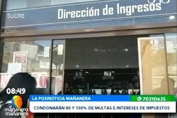 POSINOTICIA: CONDONARÁN 80% Y 100% DE MULTAS E INTERESES DE IMPUESTOS