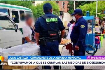 INFORME DE LA GUARDIA MUNICIPAL SOBRE CONTROLES Y OPERATIVOS