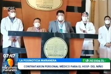 POSINOTICIA: CONTRATARON A PERSONAL MÉDICO PARA EL HOSPITAL DEL NIÑO