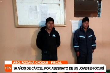 30 AÑOS DE CÁRCEL POR ASESINATO DE UN JOVEN EN OCURÍ