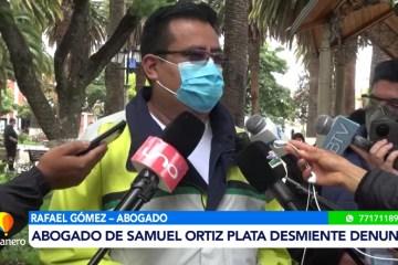 ABOGADO DE SAMUEL ORTIZ DESMIENTE DENUNCIA POR ESTAFA