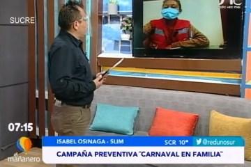 """TEMA DEL DÍA: CAMPAÑA PREVENTIVA """"CARNAVAL EN FAMILIA"""""""