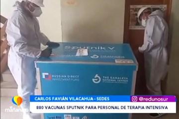 MÁS DE 800 VACUNAS PARA EL PERSONAL DE TERAPIA INTENSIVA
