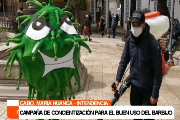 CAMPAÑA DE CONCIENTIZACIÓN PARA EL BUEN USO DEL BARBIJO