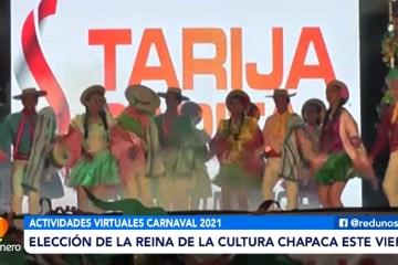 ELECCIÓN DE LA REINA DE LA CULTURA CHAPACA ESTE VIERNES