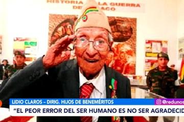 HÉROES NACIONALES DE LA GUERRA DEL CHACO FALLECEN EN EL OLVIDO
