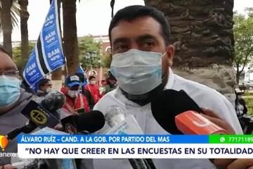 ÁLVARO RUIZ ASEGURA VICTORIA EN LA SEGUNDA VUELTA