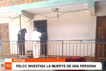FELCC REALIZÓ EL LEVANTAMIENTO DE DOS CADÁVERES