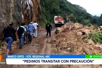 ABC EVALÚA LOS CAMINOS EN ZONAS DE ALTO RIESGO