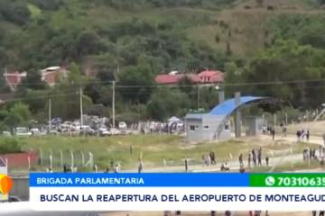 BUSCAN LA REAPERTURA DEL AEROPUERTO DE MONTEAGUDO