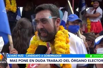 EL MAS PONE EN DUDA EL TRABAJO DEL ÓRGANO ELECTORAL