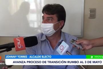 TORRES AVANZA CON EL PROCESO DE TRANSICIÓN