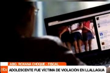 ADOLESCENTE FUE VÍCTIMA DE VIOLACIÓN EN LLALLAGUA