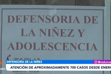 DEFENSORÍA ATENDIÓ APROXIMADAMENTE 700 CASOS DESDE ENERO