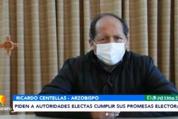 IGLESIA PIDE A AUTORIDADES ELECTAS CUMPLIR SUS PROMESAS ELECTORALES